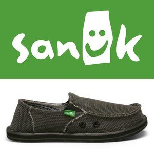 Sanuk Sidewalk Surfers - Size 4